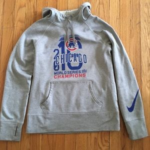 Cubs Nike World Series Champions Pullover Hoodie